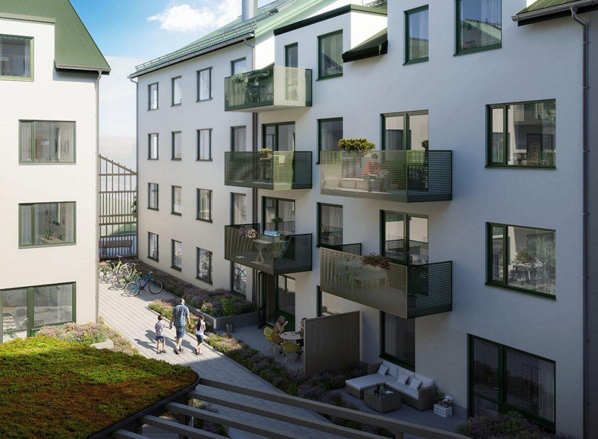 Flytta till nyproducerad bostad i Täby Park