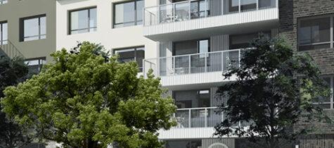 Einar Mattsson bygger i Täby Park