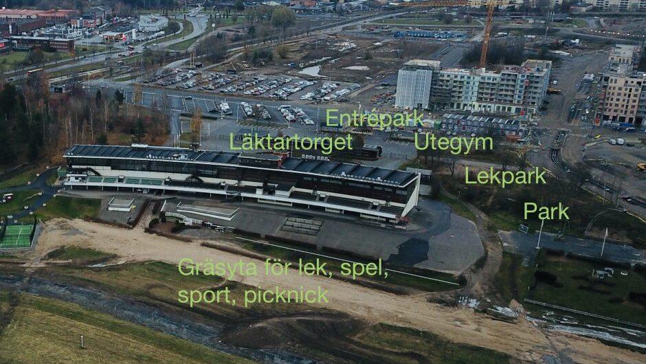 Översikt över aktiviteter i Täby Park
