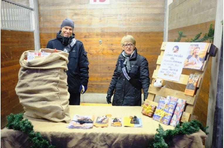 Julmarknad i Täby Park