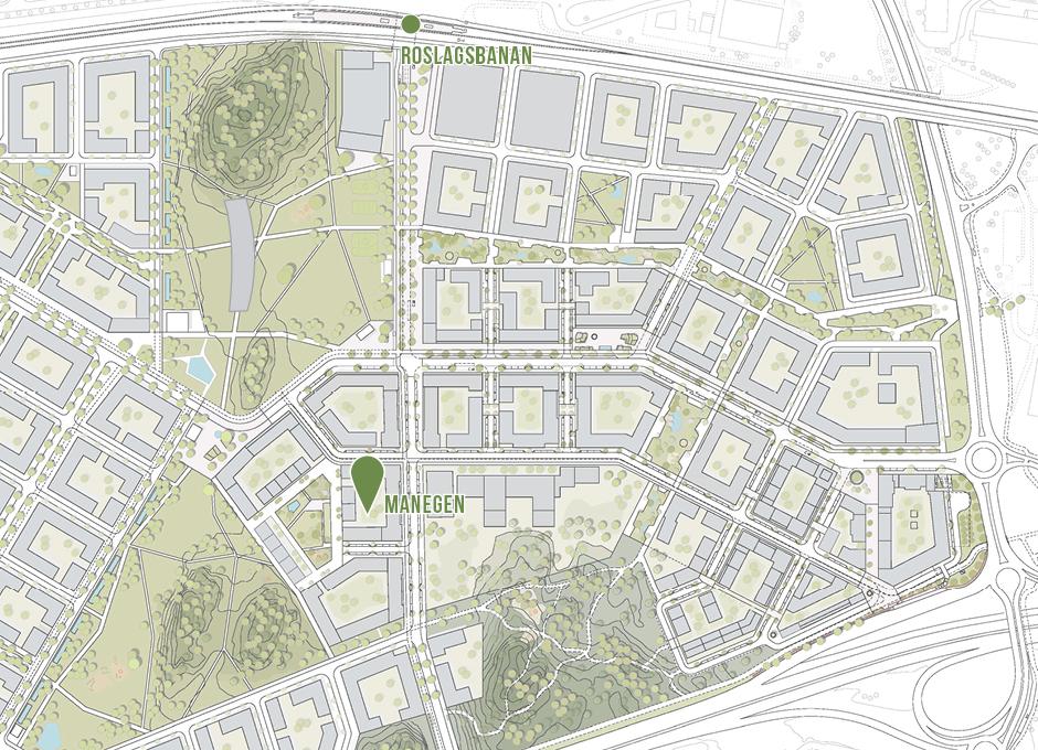 Starta cykelverkstad i kvarteret Manegen i Täby Park