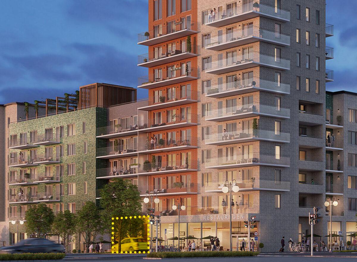 Öppna hantverksbutik i kvarteret Nor i Täby Park