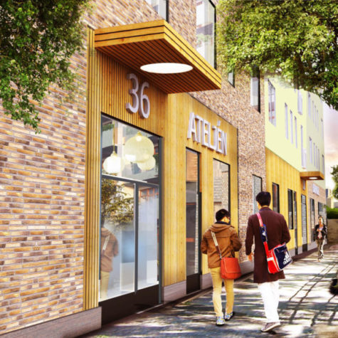 Skanska bygger bostäder i kvarteret Opalen i Täby Park