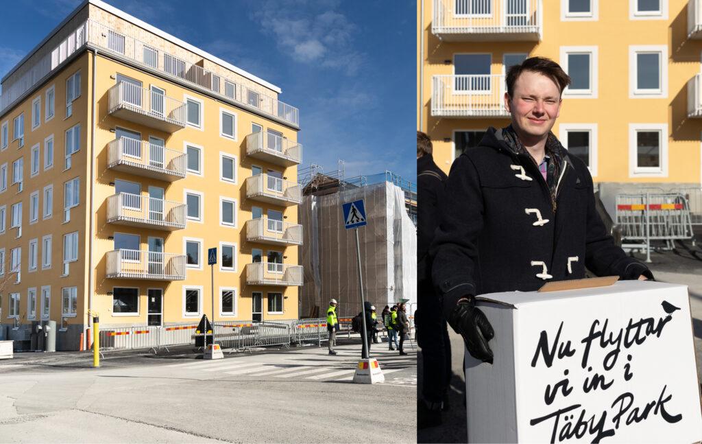 Flytta in i nyproducerad bostad i Täby Park