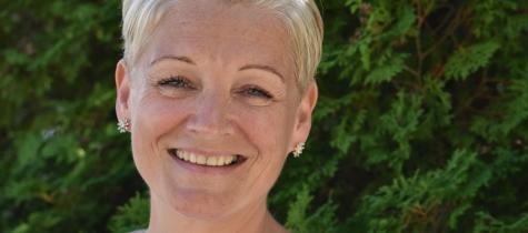Nina Lissvik har flyttat till Täby Park och stormtrivs i sin nyproducerade lägenhet